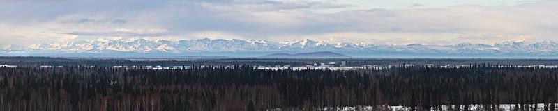 Alaska Range from Fairbanks
