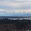 Alaska Range from Fairbanks