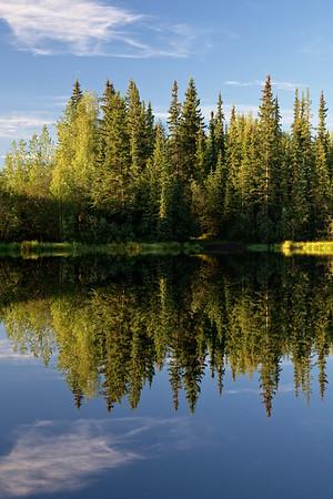 Ballaine Lake Reflections | 2014-08-14