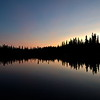 Last night after sunset, Ballaine Lake - Fairbanks, Alaska