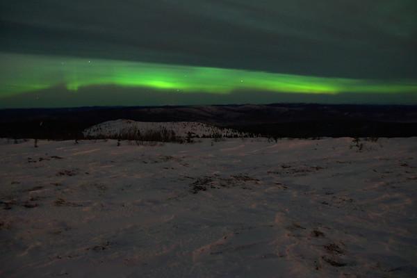 Aurora and wind crust