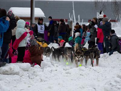Yukon Quest Start 2014