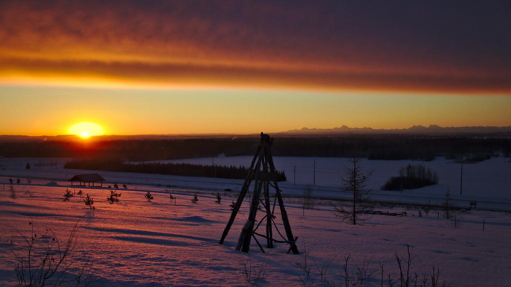 Sunrise over Winter Gardens