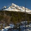 Not enough snow in the Alaska Range