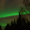 Aurora from the end of our road