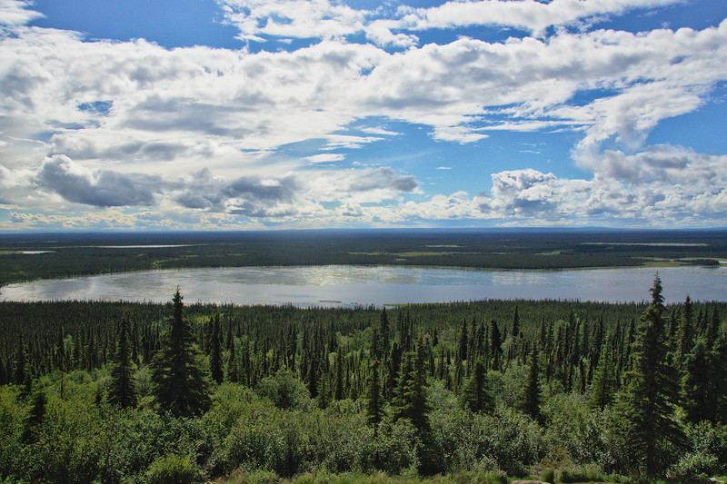 And endless Alaska - viewed from the Richardson Highway