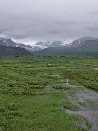 The Gulkana Glacier