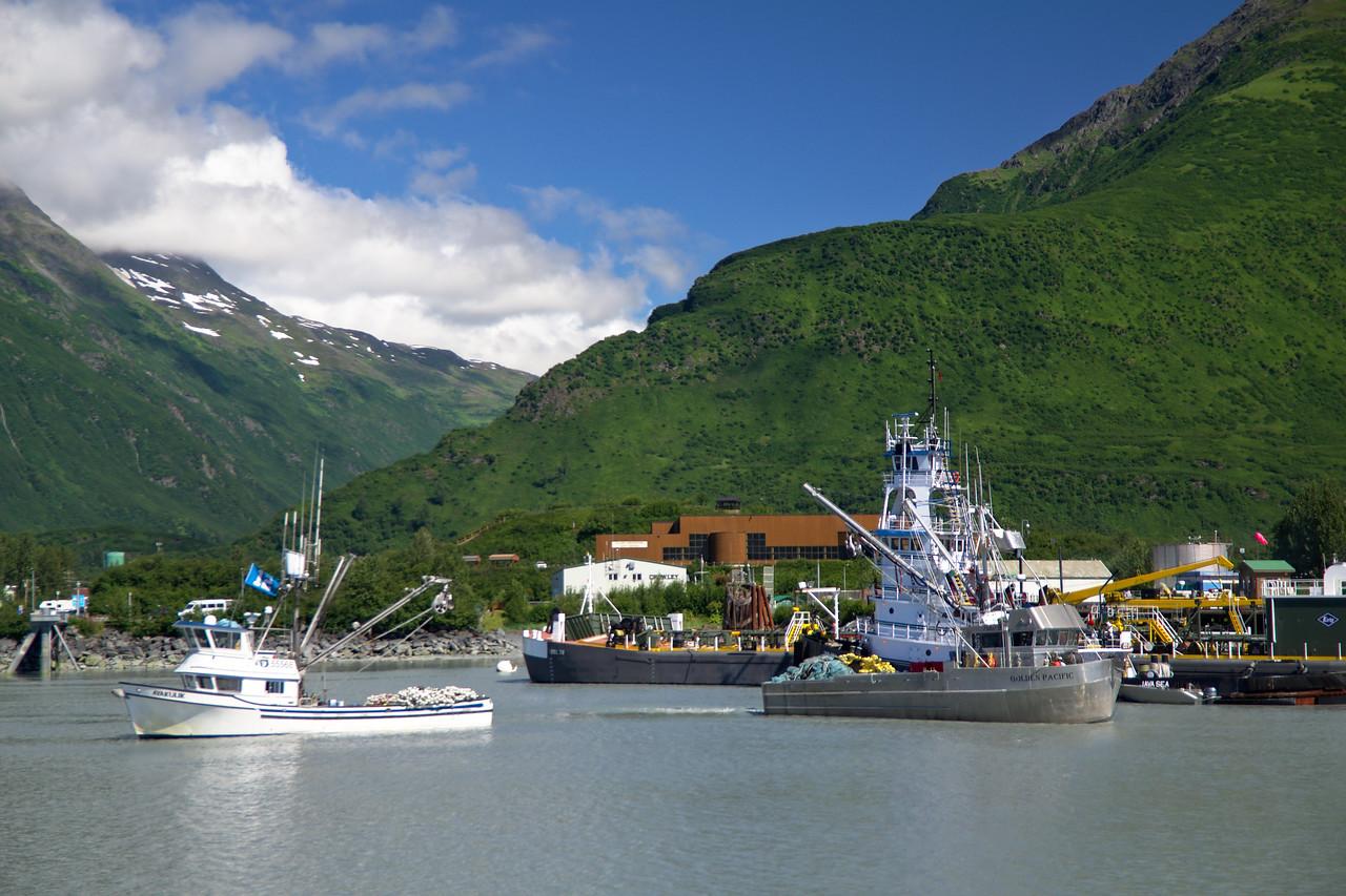 Leaving Valdez