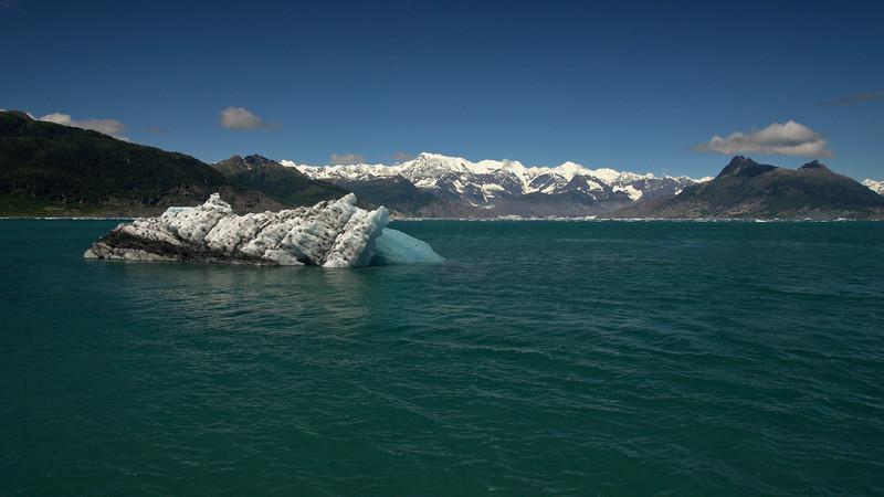 Iceberg and Mountains