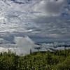 Fog over Fairbanks