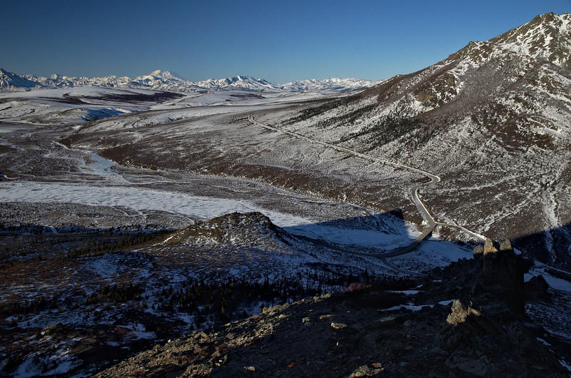 The Savage River, The Park Road, and Denali