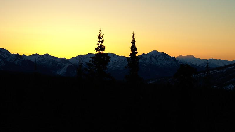Glow before sunrise