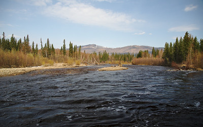 The North Fork of the Chena River