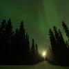 Aurora Moonrise