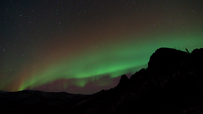 Aurora at Angel Rocks