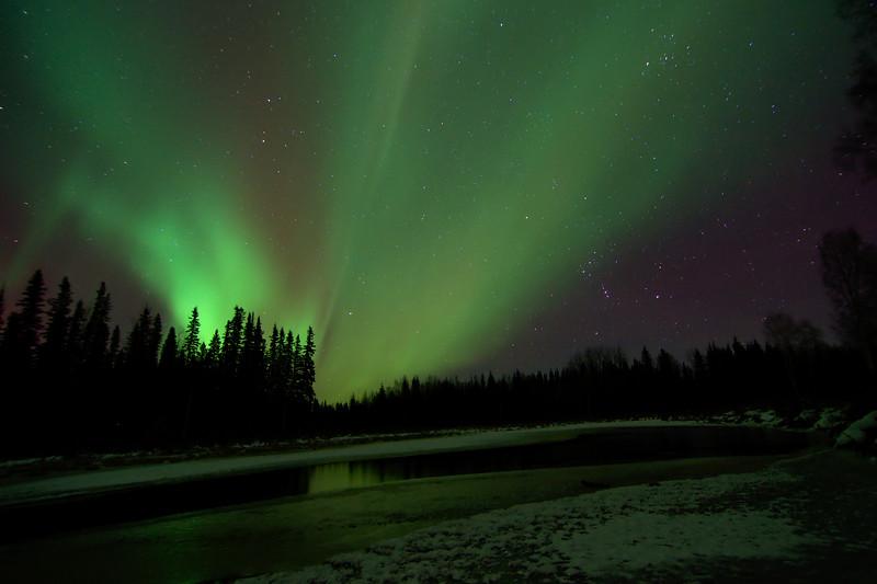 Aurora and Reflection