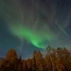 Faint auroral glow 6