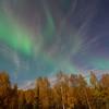 Faint auroral glow 4