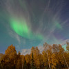 Faint auroral glow 3