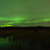 Aurora over Smith Lake