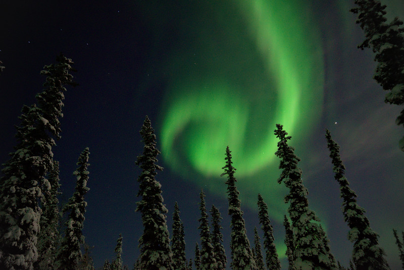 "Photo of the Week - ""Northern Lights Spiral"""