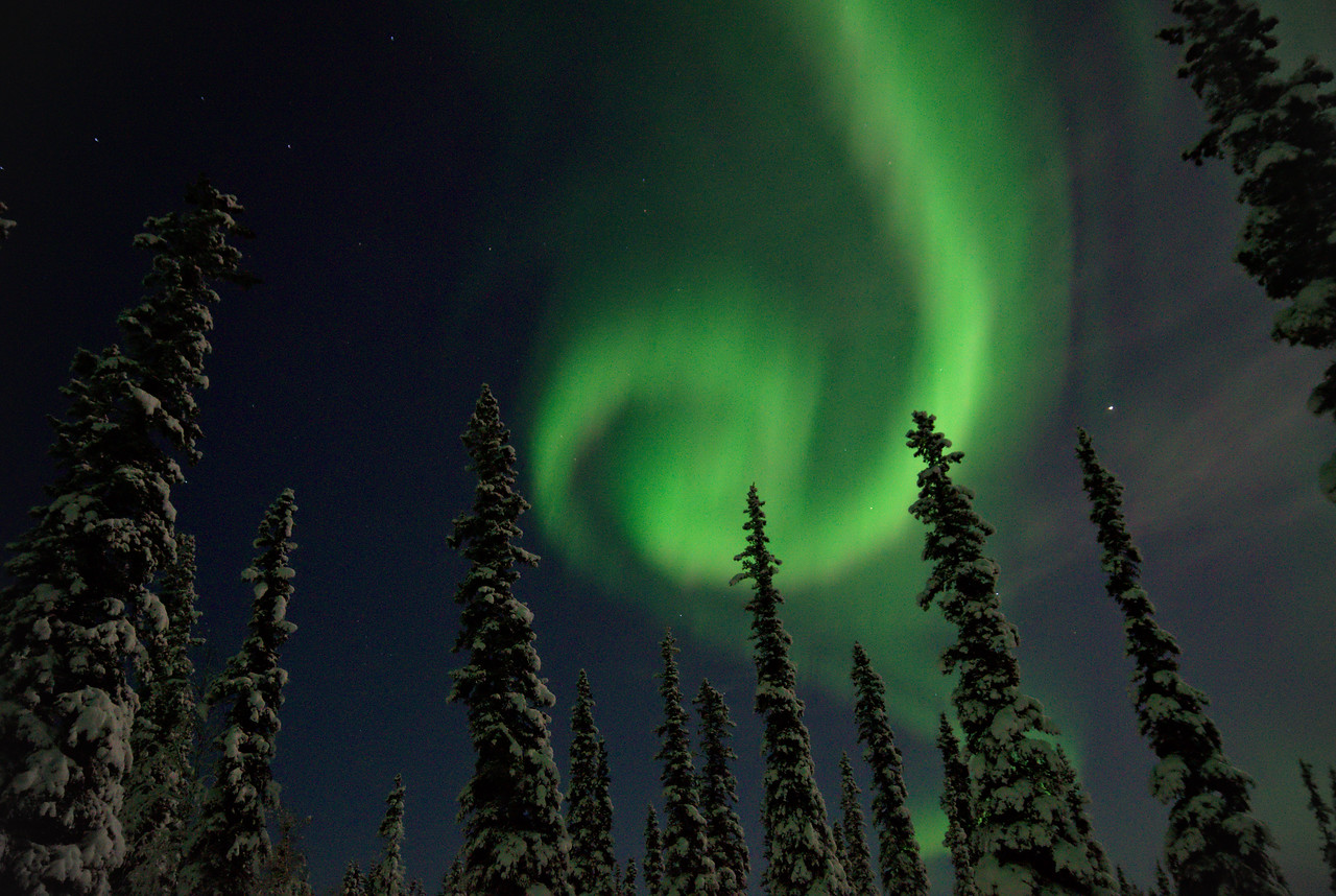 """Photo of the Week – """"Northern Lights Spiral"""""""