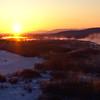 Sunrise over the Tanana