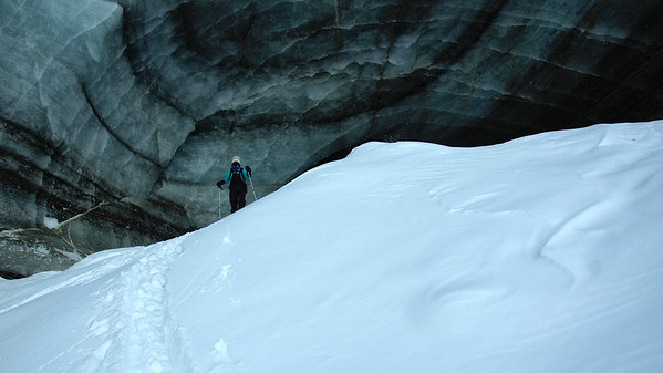 Descending from the Cave