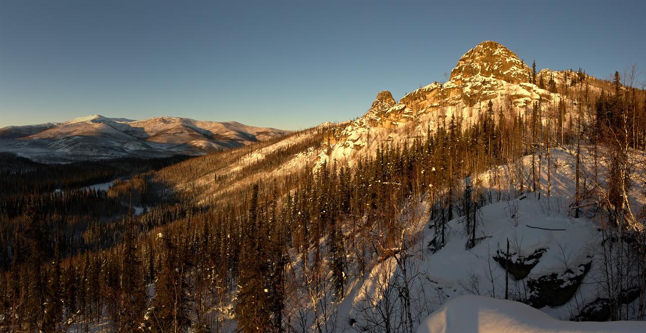 Angel Rocks Winter Panorama