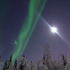 Moon vs Aurora