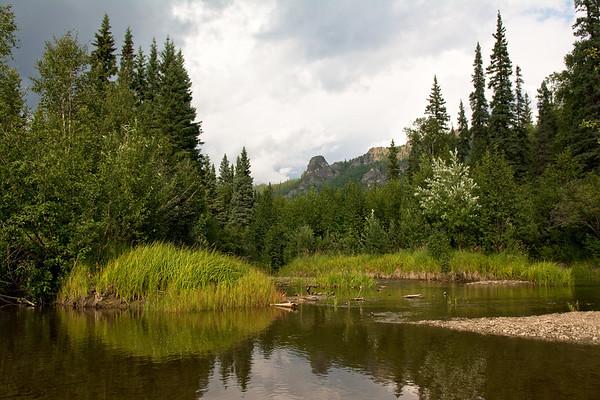 Creek and Angel Rocks