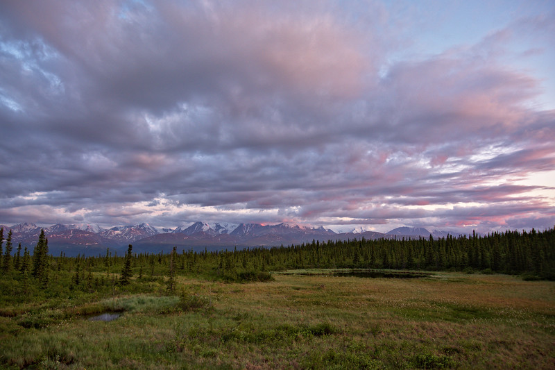 Color on the Alaska Range