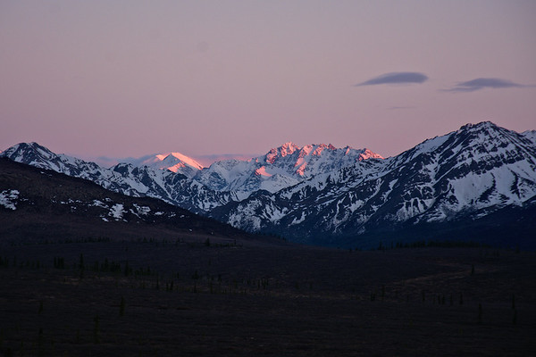 A touch of alpenglow