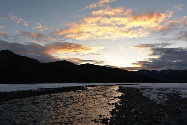 Teklanika Sunset