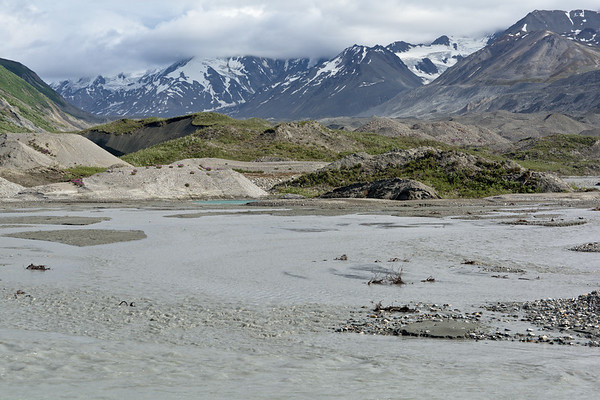 Miller Creek At the Toe of the Canwell Glacier