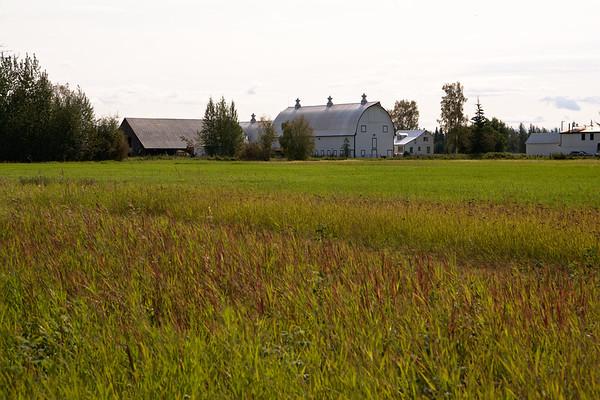 Barn and Farmhouse