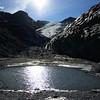 Worthington Glacier, Cascades, and Pond