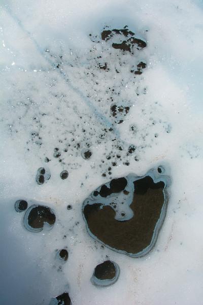Sediment melt