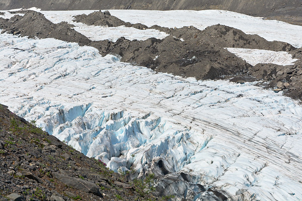 Worthington Glacier Crevasses