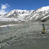 Approaching the Gulkana Glacier