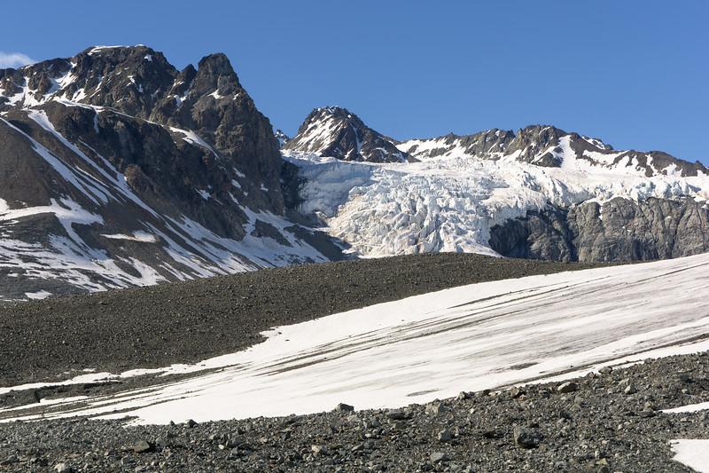 Gulkana Toe and Gabriel Icefall