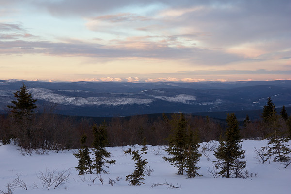 White Mountains from Murphy Dome