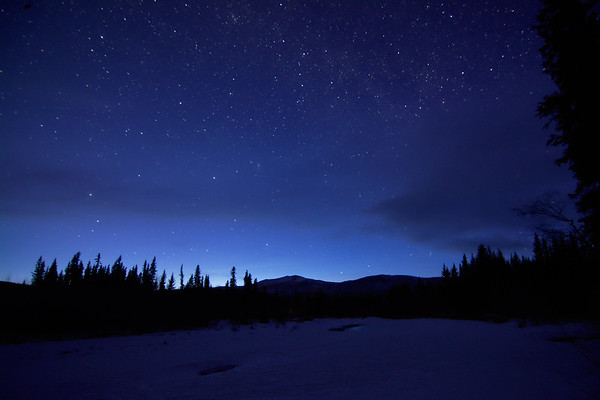 Night Sky over the Chena River