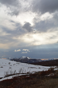 Sky over Sable Pass