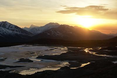 Sunset over Miller Creek