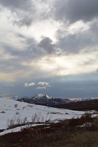 Sky over Sable Pass