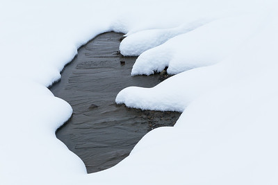 Tanana River Snow
