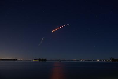 Falcon 9 Launch 1st minute