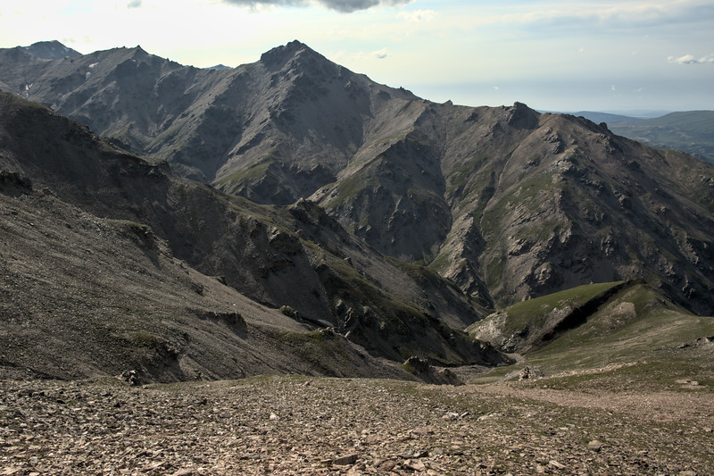 Views of the western ridge near Mt. Healy