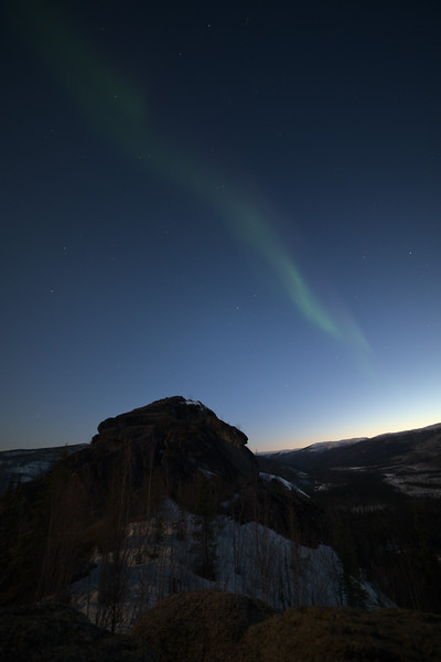 Northern lights from Angel Rocks